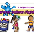 Water Balloon Fight: A Multiplication Board Game