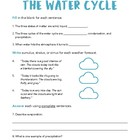 Water Cycle: Test