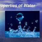 Water, Surface Tension, Capillary Action, Solutions & othe