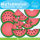 Watermelon Graphics - Personal and Commercial Use