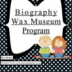 Wax Museum Program Notes and Organizer