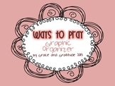 Ways to Pray Graphic Organizer