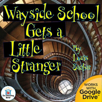 Wayside School Gets a Little Stranger Novel Unit~ Common C