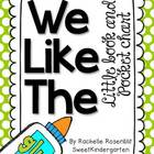 """We Like The"" Little Book & Pocket Chart Set"