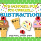 We Scream For Ice Cream...Subtraction! ~Numbers 0-10 Cente
