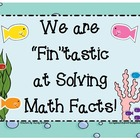 1.OA.6, 2.OA.2 We are Fin-tastic at Solving Addition & Sub
