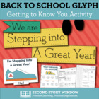 We are Stepping into a Great Year! Shoe Glyph Activity