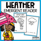 Weather Book {Emergent Reader}