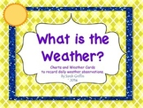 Weather Graphs and Picture cards