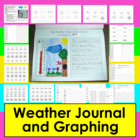 Weather Journal-Writing Across The Curriculum-2 Versions
