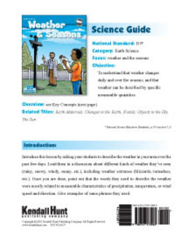 Weather & Seasons Science Guide