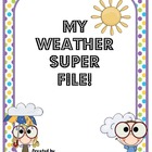 Weather Unit: Super File Folder!
