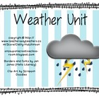 Weather Unit for Early Elementary - Super cute Activities