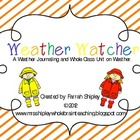 Weather Watcher--Journal, Graphing and Activities