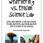 Weathering vs. Erosion Science Lab and Posters
