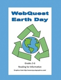 WebQuest - Earth Day-Grades 3-6