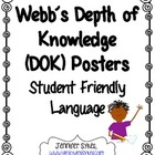 Webb's Depth of Knowledge Common Core Posters