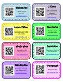 Websites with QR Codes