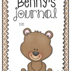 Weekend Friend: Benny the Bear