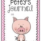 Weekend Friend: Petey the Pig