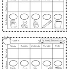 Weekly Behavior Chart {FREEBIE}