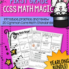 First Grade CCSS Math Magic {Yearlong Bundle}