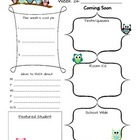 Weekly Newsletter Planner
