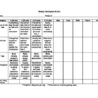 Weekly Participation Rubric