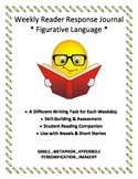 Weekly Reader Response Journal - Figurative Language