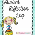 Weekly Reflection Log and Cover - FREE