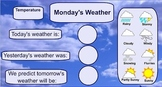 Weekly Weather Chart - SMARTboard