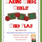 Weekly Word Play: Building Words