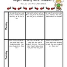 Weekly Word Problems August - 2nd Grade - Free