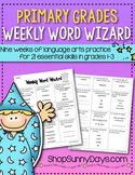 Weekly Word Wizard Set Four