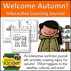 Welcome Autumn / Fall {Interactive Learning Journal}  Simp