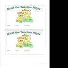 Welcome Back to School: Wild About Learning Packet