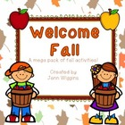 Welcome Fall! ~ A Cross Curricular Mega Pack