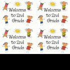 Welcome to 2nd Gr Postcards (printable)