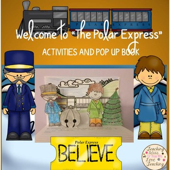 Welcome to The Polar Express: Activities and Pop Up Book