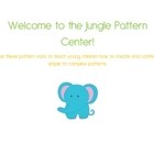 Welcome to the Jungle Pattern Teaching and Challenge Center