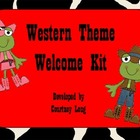 Western Classroom Welcome Kit