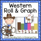 Western Cowboy Roll & Graph Activity