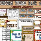 Western Theme Pack #2 from Teacher's Clubhouse