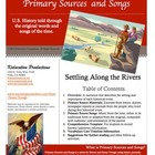 Westward Movement Bundle--Primary Sources and Songs