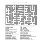 Westward Movement Crossword Puzzle