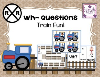 Wh- Questions Train Fun!