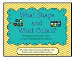 What Color and What Shape?- Adapted Book for Students with