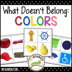 What Doesn't Belong: Colors (Visual Discrimination Skills, Pre-K)