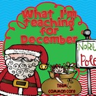 What I'm teaching for December Mega Pack { Common Core }