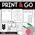 What I'm teaching for September Pack { CCSS }